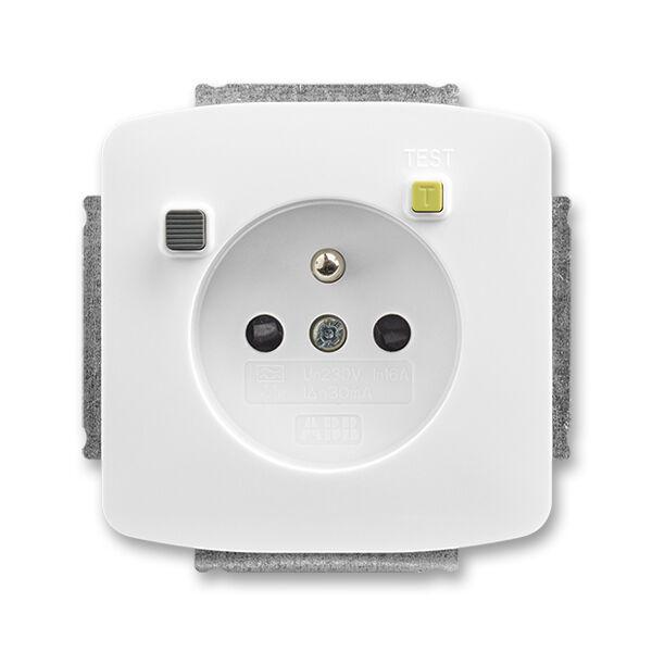 ABB 5526A-A02369 B zásuvka + proud.chránič