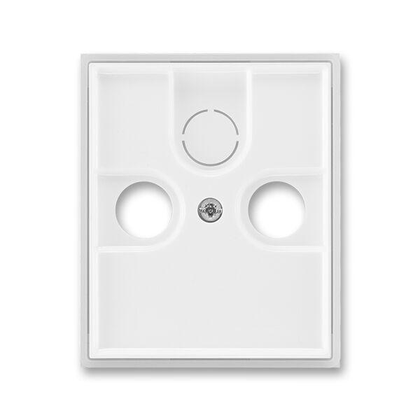 ABB 5011E-A00300 01 Kryt TV+ R+ (SAT) zásuvky