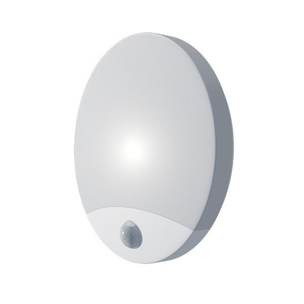 PANLUX PN32300003 Svítidlo OLGA S LED přisazené stropní a nástěnné kruhové svítidlo se senzorem