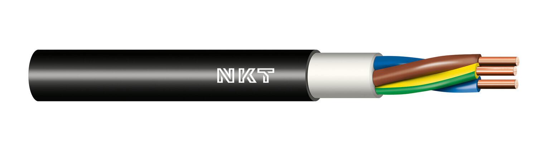 Instalační kabel CYKY-J 5x 2,5 kruhy 100m