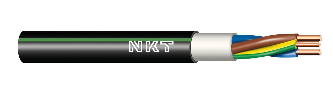 Instalační kabel CYKY-J 3x 2,5 kruhy 100m
