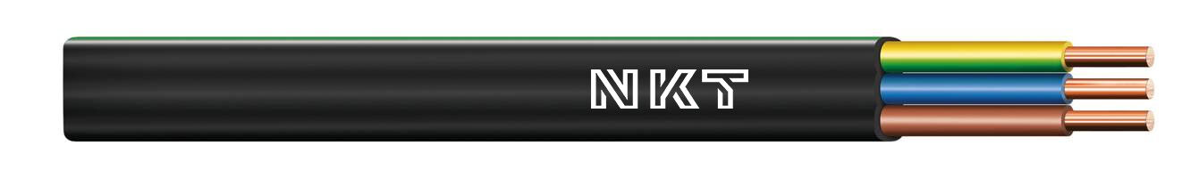 Instalační kabel CYKYLo-J 3x2,5 kruhy 100m