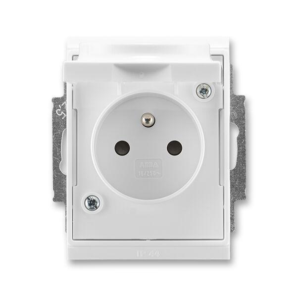 ABB 5518E-A02999 03 Zásuvka jednonás. IP 44