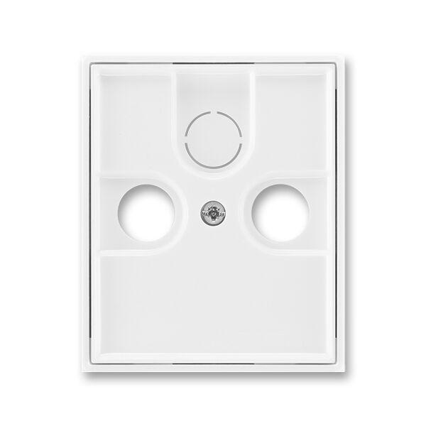 ABB 5011E-A00300 03 kryt TV+R+(SAT) zásuvky