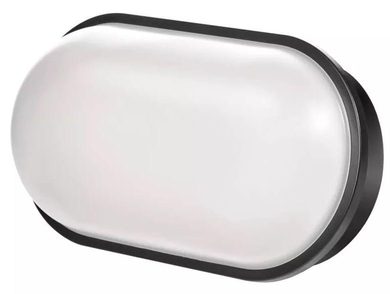 EMOS ZM3021 LED přisazené svítidlo, oválné černé 20W neutrální b., IP65