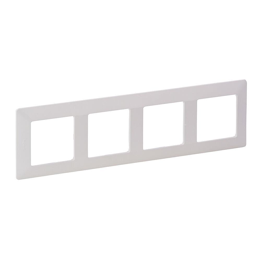 LEGRAND 754004 VALL Rámeček 4P bílá