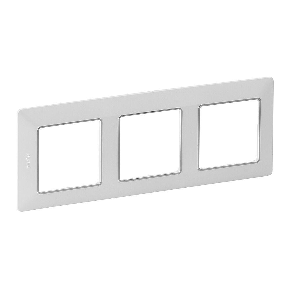 LEGRAND 754033 VALL Rámeček 3P bílá-chrom