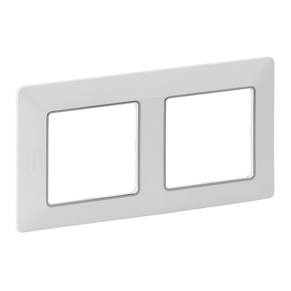 LEGRAND 754032 VALL Rámeček 2P bílá-chrom