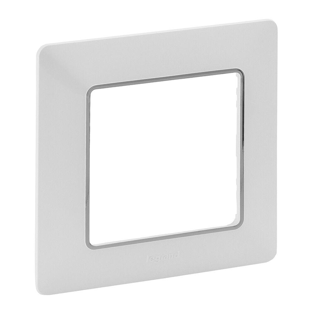 LEGRAND 754031 VALL Rámeček 1P bílá-chrom
