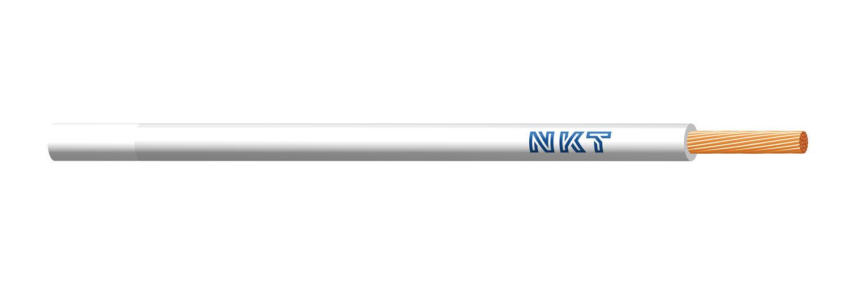NKT vodič CYA 0,5 bílá barva (H05V-K)