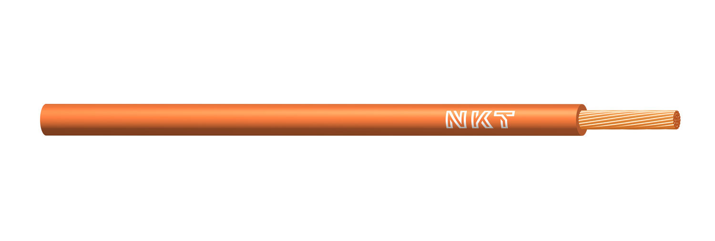 NKT vodič CYA 0,5 oranžová barva (H05V-K)