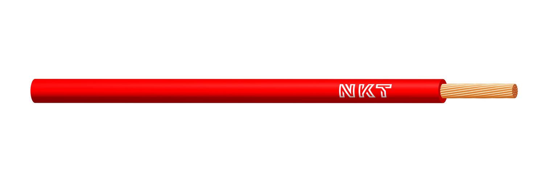 NKT vodič CYA 0,5 rudá barva (H05V-K)