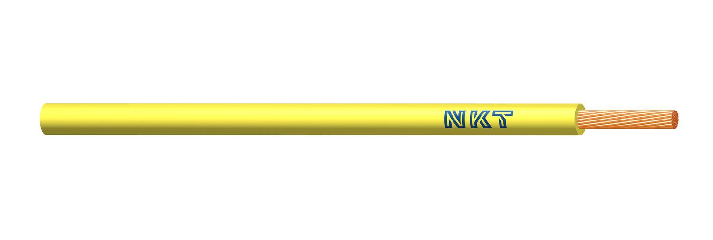 NKT vodič CYA 0,5 žlutá barva (H05V-K)