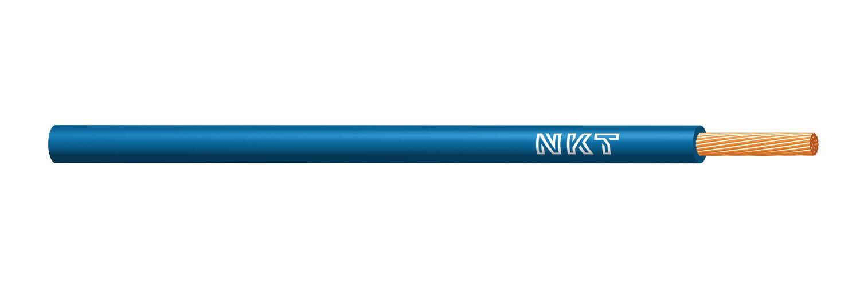 NKT vodič CYA 1 světle modrá (H05V-K) RAL5012