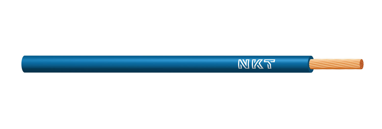 NKT vodič CYA 4 světle modrá barva (H07V-K) RAL5012