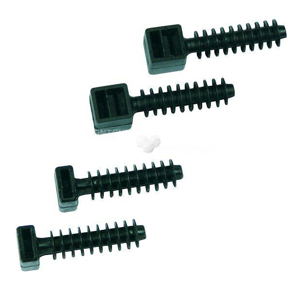 VCZ 9/43,5 Příchytka na vázací pásky; šířka = 9mm (CH-8) (balení=100ks)