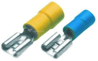 Konektor plochý lisovací PVC BF-F 608
