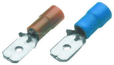 Konektor plochý lisovací PVC BF-M 608