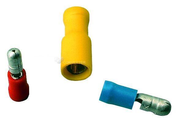 Konektor kruhový lisovací PVC BF-BM 4, balení 20 ks