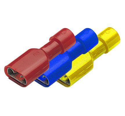 Konektor plochý lisovací PVC BF-F 608P balení 20ks