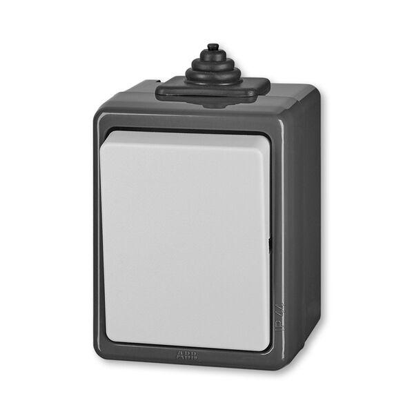 ABB 3553-06929 S Přepínač střídavý, ř.6, IP 44