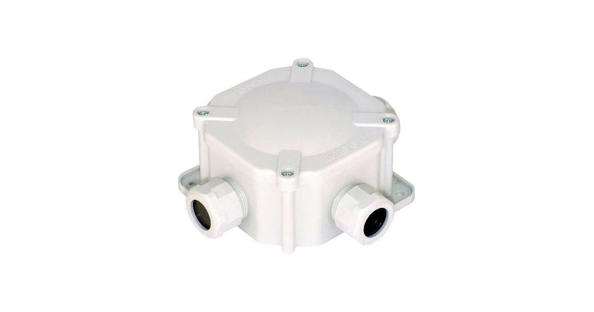 SEZ 6455-27 P/2 (10003167.00) Rozvodka krabicová 4 x Pg21 (acidur)