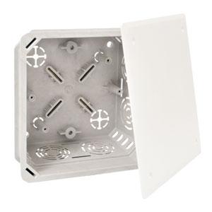 KOPOS KO 100 E KA krabice odbočná šedá s víčkem V 100 E