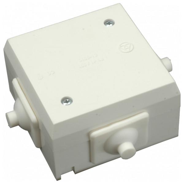 SEZ 6456-23 (10001485.00) Rozvodka krabicová bílá, IP43, PVC