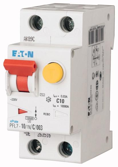 EATON PFL7-10/1N/C/003 Chránič s jističem