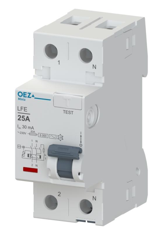 OEZ LFE-25-2-030AC Proudový chránič