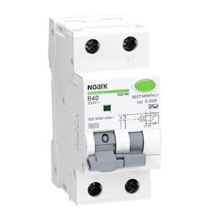 NOARK 100740 Ex9CBL-N 1PN B10 30mA Chránič s nadproudovou ochranou