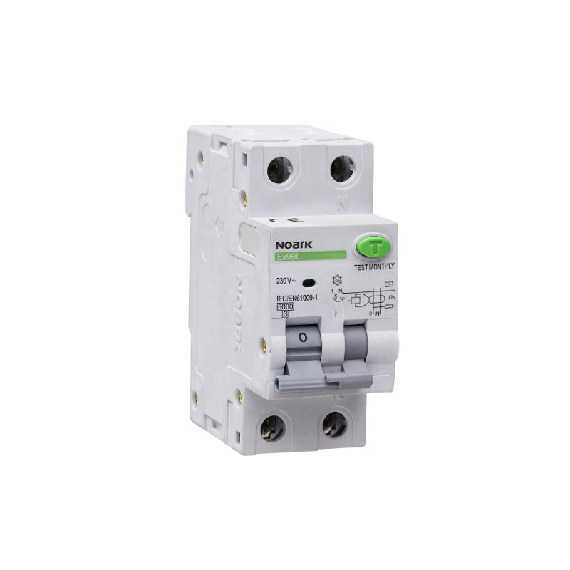 NOARK 107622 Ex9BL-N 1P+N B16 30mA Chránič s nadproudovou ochranou
