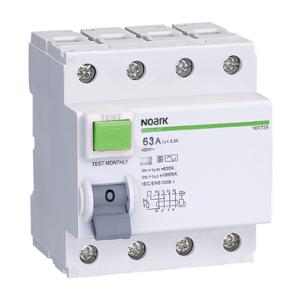 NOARK 100722 Ex9CL-100 4P 63A 300mA S Proudový chránič