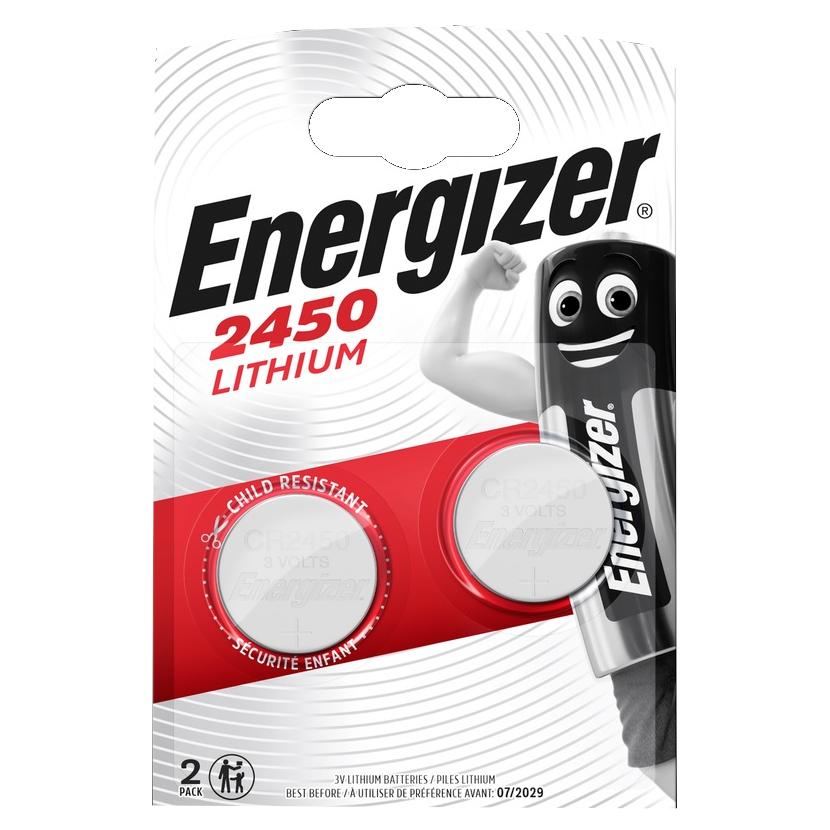 ENERGIZER Baterie CR2450, 2 ks (blistr)