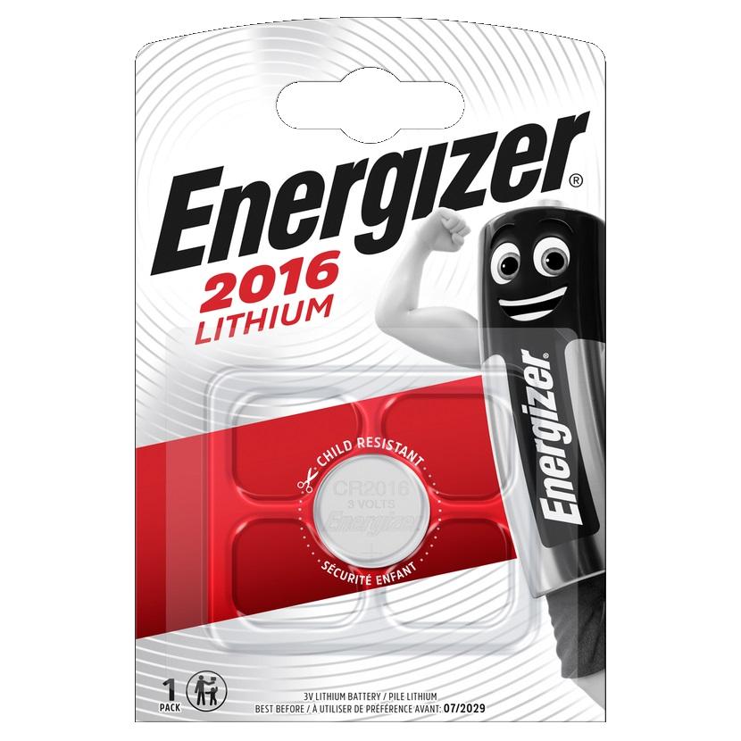 ENERGIZER Baterie CR2016, 1 ks (blistr)