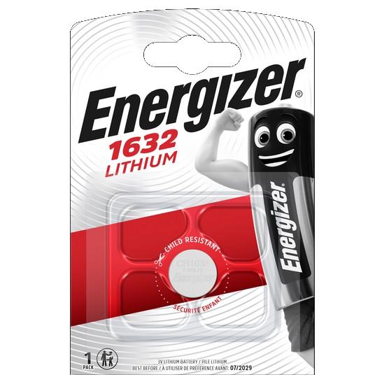 ENERGIZER Baterie CR1632, 1 ks (blistr)