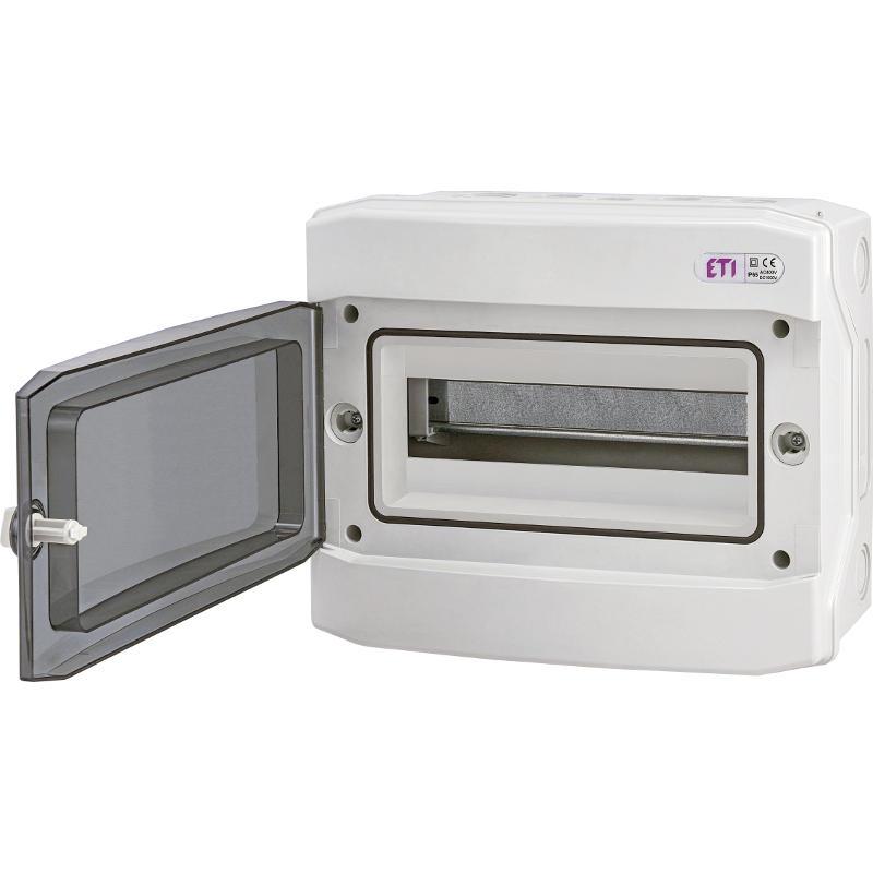 ETI Rozvodnice plastová ECH-12PT, montáž na omítku, IP65, 1Ř, 12M (001101062)