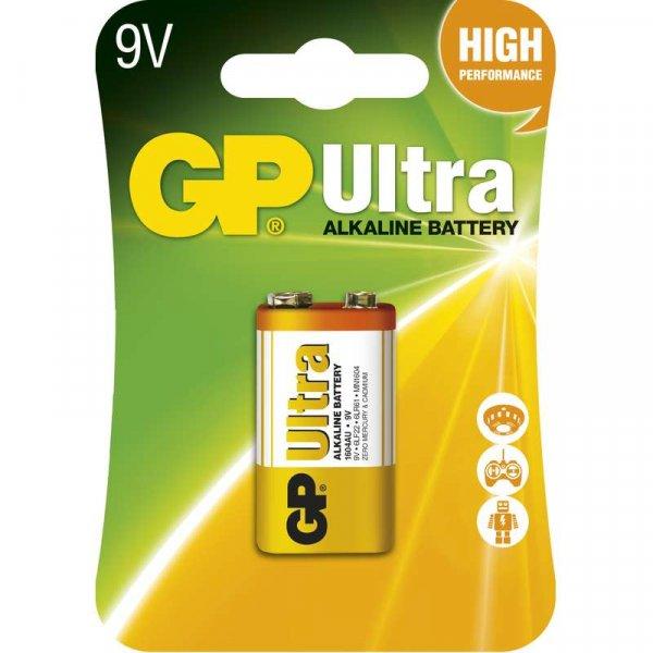 GP Ultra Baterie alkalická 9V 1BL