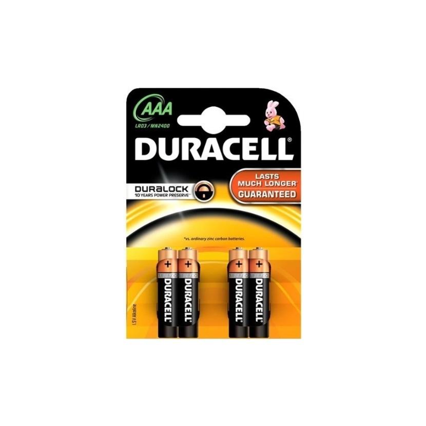 DURACELL Basic Baterie AAA/LR03 , 4 ks (blistr)