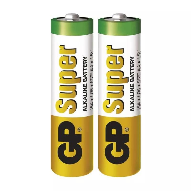 GP Super Baterie alkalická AA (LR6), 2 ks