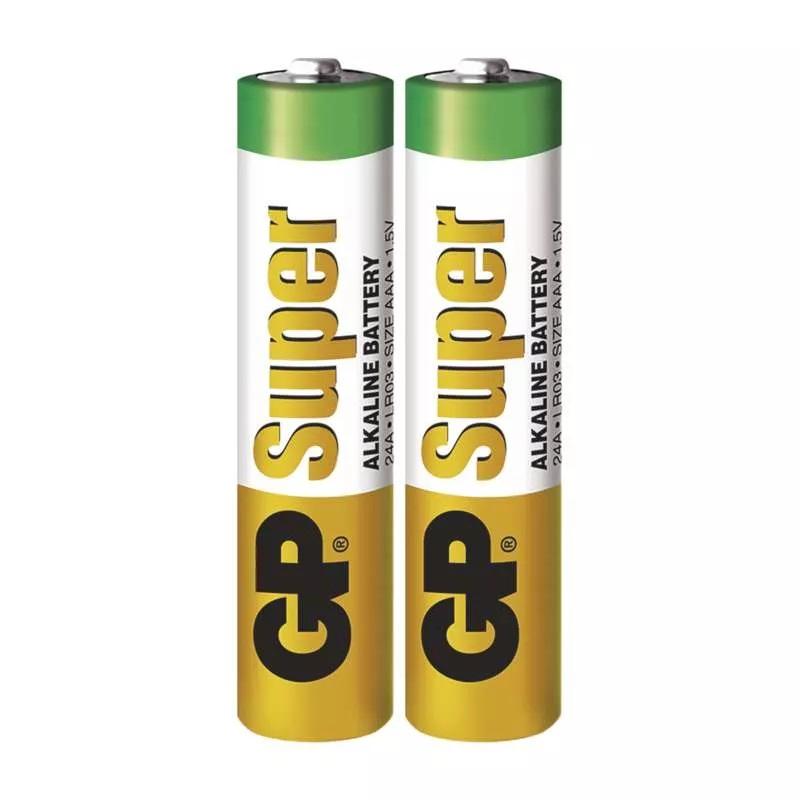 GP Super Baterie alkalická AAA (LR03), 2 ks