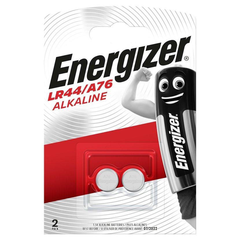 ENERGIZER Baterie LR44/A76, 2 ks (blistr)