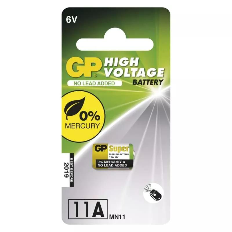 GP Alkalická speciální baterie 11AF (MN11) 6 V, 1 ks
