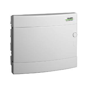 NOARK Rozvodnice plastová PNF 12W, bílé dveře, montáž pod omítku, IP40, 1 řada, 12M (101518)