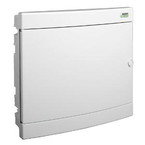 NOARK Rozvodnice plastová PNF 2x18W, bílé dveře, montáž pod omítku, IP40, 2 řady, 2x18M (101521)