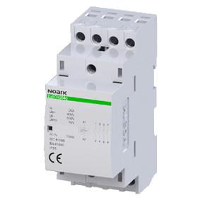 NOARK 102412 Instalační stykač Ex9CH25 40 230V 50/60Hz, 25 A, ovl. 230 V, 4 NO kontakty