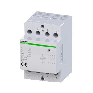 NOARK 102420 Instalační stykač Ex9CH40 40 220/230V 50/60Hz, 40 A, ovl. 220/230 V, 4 NO kontakty