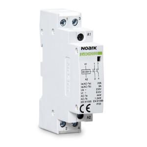 NOARK 102399 Instalační relé Ex9CH20 20 220/230V 50/60Hz, 20 A, ovl. 220/230 V, 2 NO kontakty