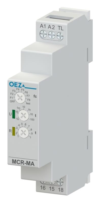 OEZ MCR-MA-001-UNI Multifunkční časové relé