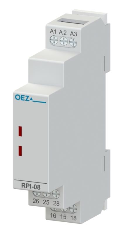 OEZ RPI-08-003-UNI-SC Instalační relé